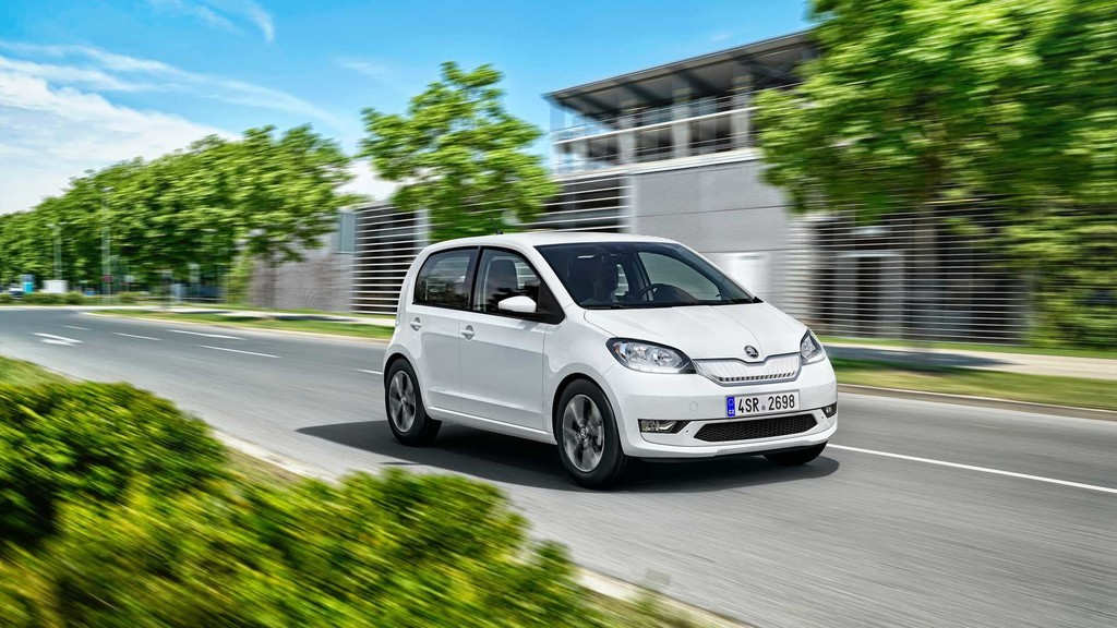 Škoda CITIGOe iV, el primer coche eléctrico del fabricante checo llegará con 265 km de autonomía por