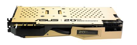 Asus Rog Gtx980 Gold 20th Backplate