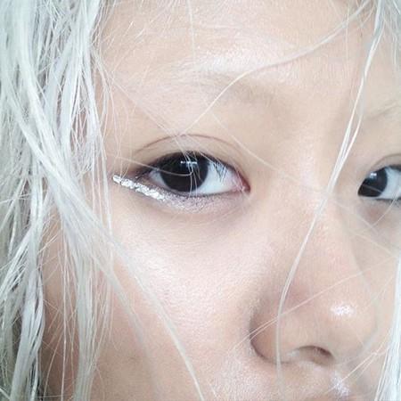 Eyeliner Plateado 2