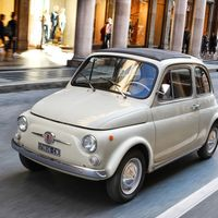 Un FIAT 500 es adquirido por el MoMa de NY y se convierte en una pieza de arte moderno