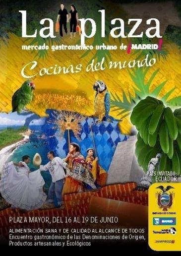 La gastronomía de Ecuador, protagonista del mercado Cocinas del mundo