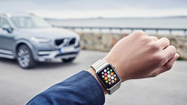 Volvo va a dejar que controles su XC90 con el reloj inteligente