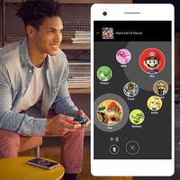 La app de Switch para móviles añade tres títulos más, incluyendo Mario Kart 8 Deluxe