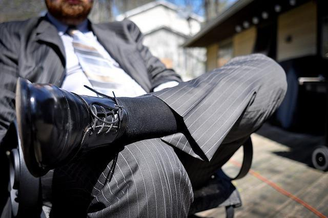 Cómo vestir con traje