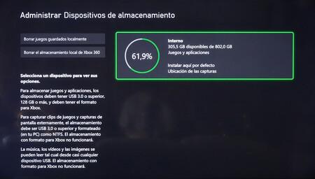 Xboxxalmacenamiento