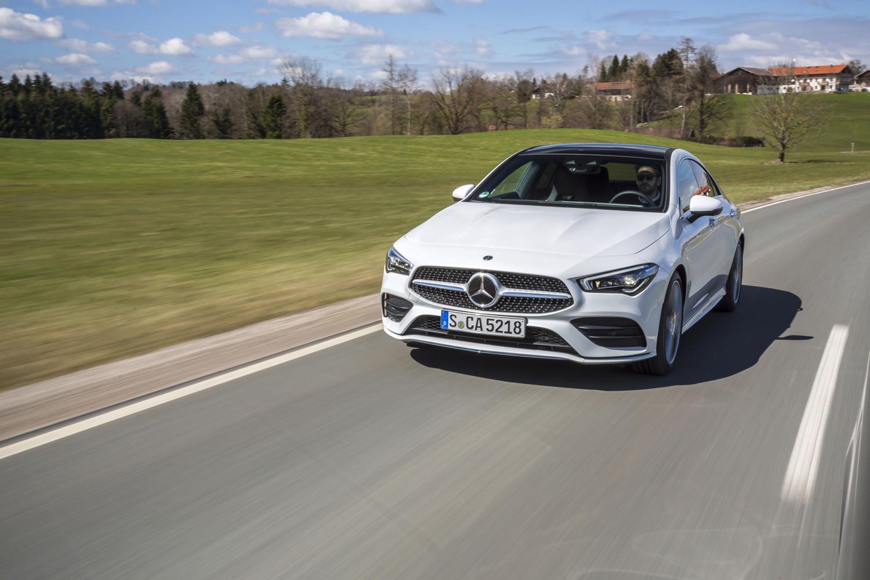 Foto de Mercedes-Benz CLA Coupé 2019, toma de contacto (140/248)