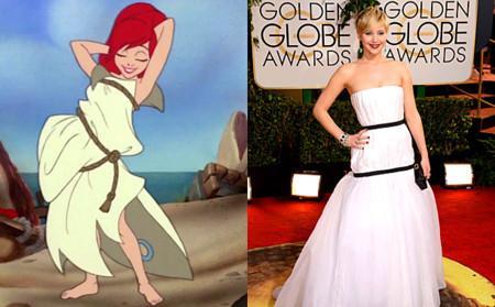 Todo el mundo habla del vestido de Jennifer Lawrence... aunque no como le habría gustado a Dior