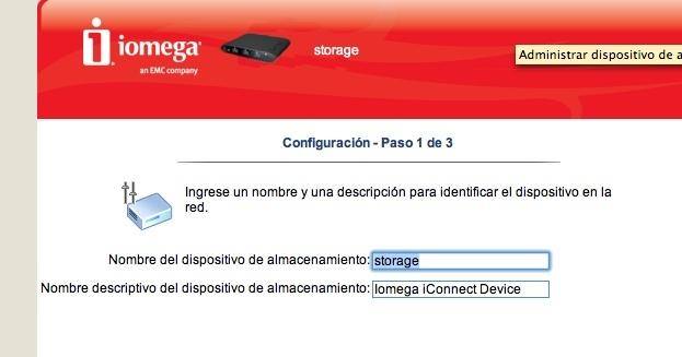 Iomega iConnect prueba