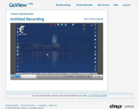 GoView, sencillo grabador de screencasts para Windows con alojamiento online