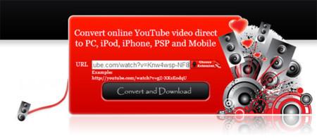 ConvertMyTube.com otro servicio para convertir vídeos de YouTube