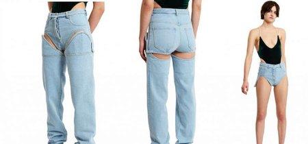 El premio a la prenda más ridícula de la temporada es para los shorts con pantalones largos de Opening Ceremony