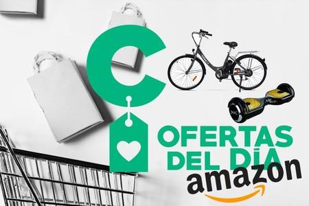 Ofertas del día en movilidad urbana con patinetes y bicicletas eléctricos de marca Nilox en Amazon