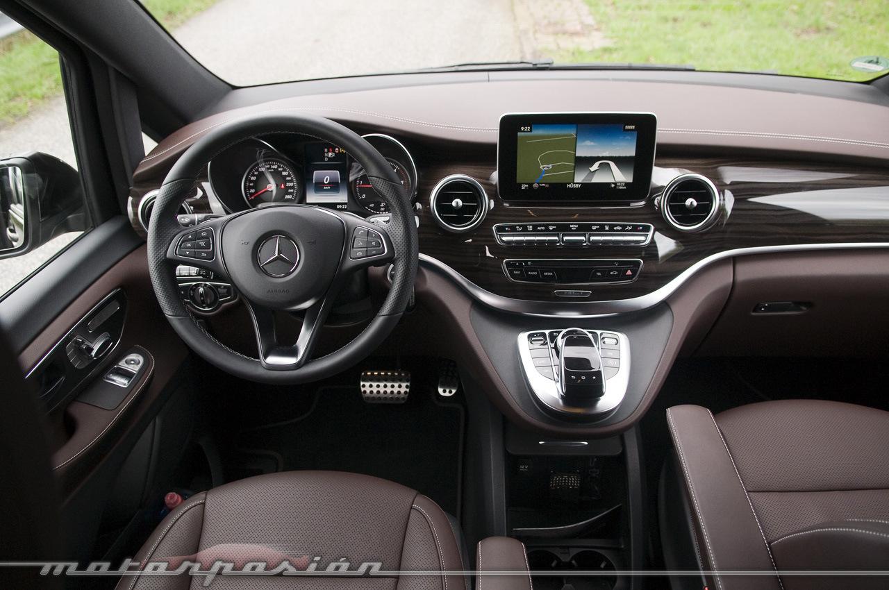 Foto de Mercedes-Benz Clase V (toma de contacto) (25/44)