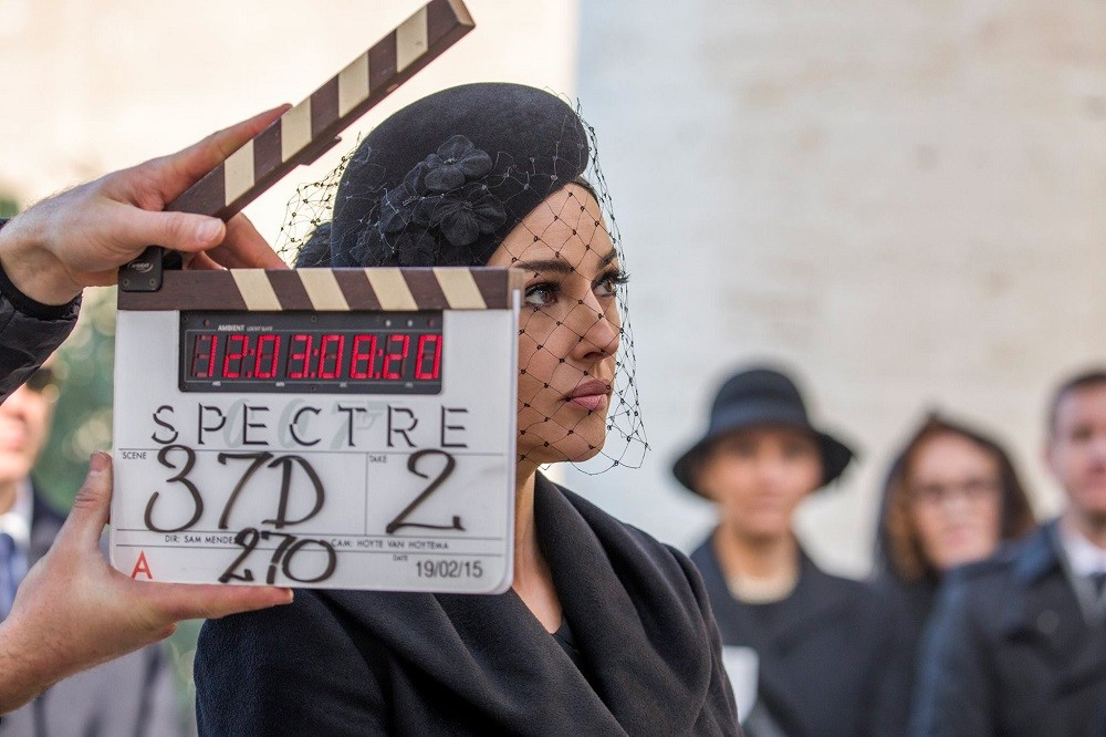 Spectre Funeral Clapperboard