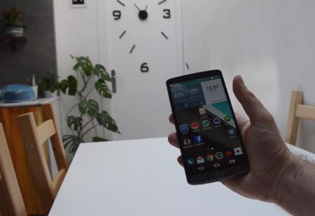 LG G3 en mano