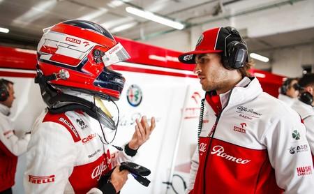 Kubica Giovinazzi F1 2020