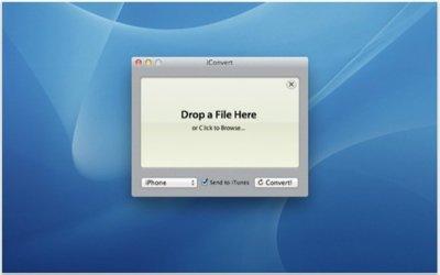 iConvert, convirtiendo archivos de audio y vídeo para dispositivos iOS de forma sencilla