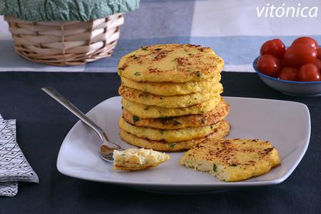 Tortitas fit de coliflor: receta saludable sin harinas y muy fácil