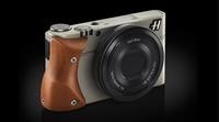 Hasselblad Stellar, una Sony RX100 con empuñadura de madera, probablemente a un precio prohibitivo