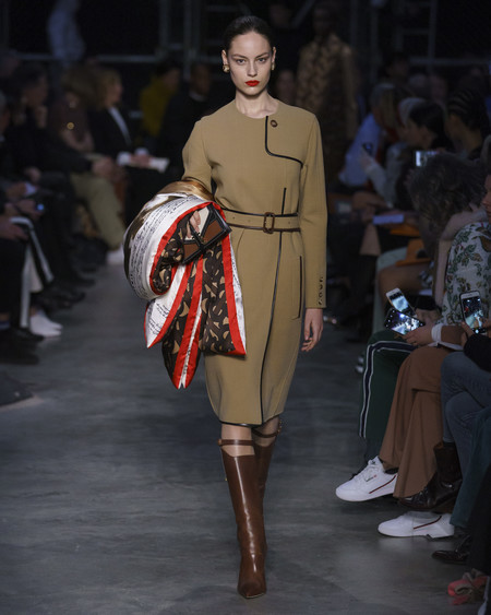 Burberry Autumn Winter 2019 Collection Look 56