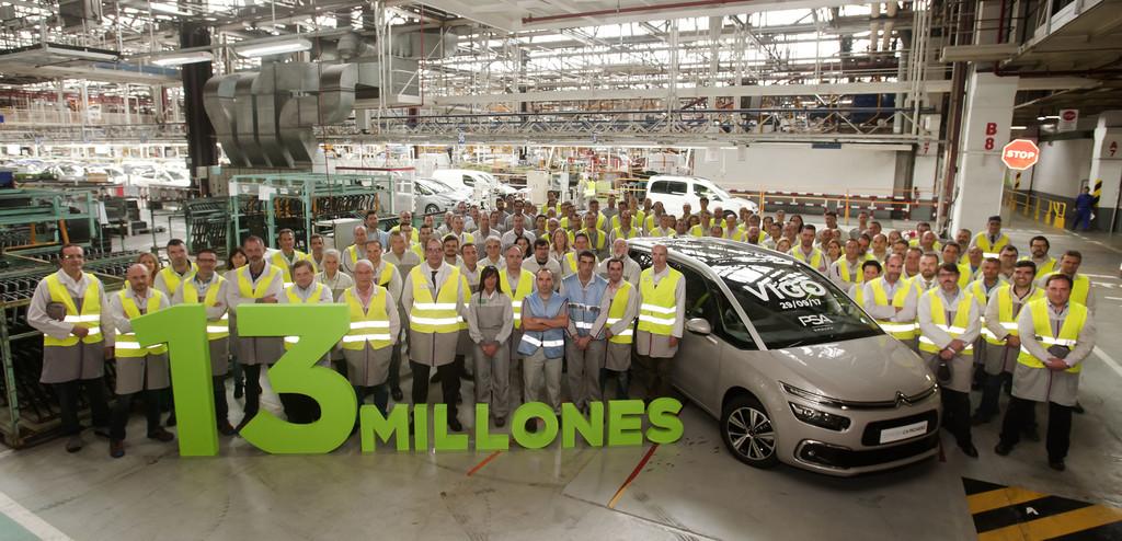 13 millones vehículos PSA Vigo