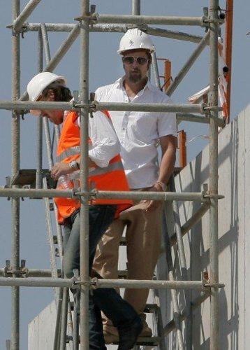 Brad Pitt visita por sorpresa Avilés (Asturias)