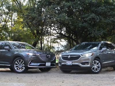 Comparativo: Buick Enclave Avenir vs. Mazda CX-9 Signature