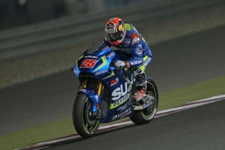 Maverick Viñales ya no sorprende y encabeza el segundo día de test de MotoGP en Catar