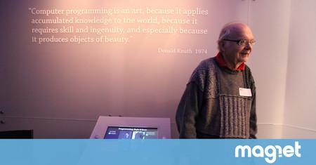 """La historia detrás de Donald Knuth, el padre de """"la Biblia"""" de la programación moderna"""