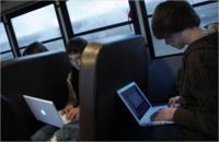 Wi-Fi en el autobús escolar, un remanso de paz