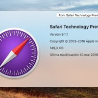 Ya está disponible la versión 11 de Safari Technology Preview