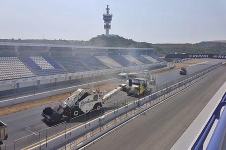 Circuito Jerez : Reasfaltarse o morir el circuito de jerez ha comenzado sus obras