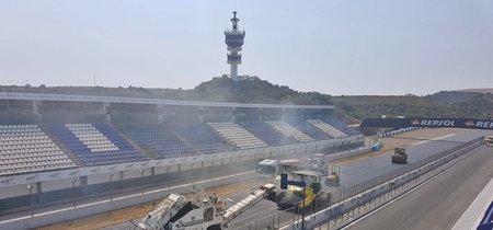 Reasfaltarse o morir: El circuito de Jerez ha comenzado sus obras  de reasfaltado y Silverstone lo hará antes de julio