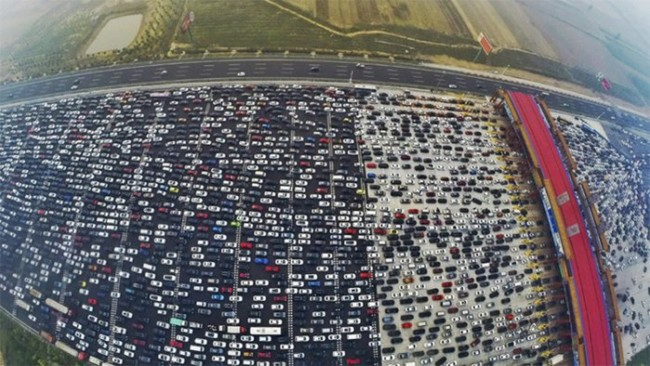 China Congestionamiento E