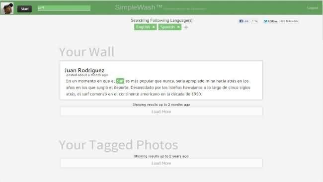 Simplewash para eliminar datos sensibles facebook-logo