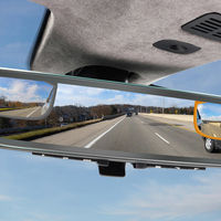 Aston Martin tiene un nuevo espejo retrovisor híbrido que muestra tres señales de vídeo simultáneas para puntos ciegos