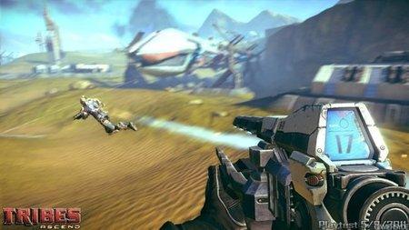 'Tribes: Ascend'. Primeras imágenes de juego real