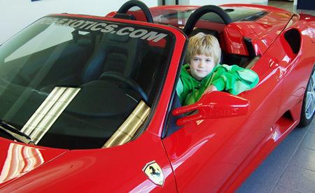 Escuela de conducción para niños de 10 años