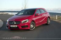 Mercedes-Benz A 250 BlueEfficiency, prueba (conducción y dinámica)