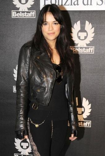 Celebrities en la Semana de la Moda de Milán, Michelle Rodriguez