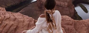 Cinco sets de scrunchies con forma de pañuelo fáciles de colocar que le dan un toque romántico a nuestros outfits