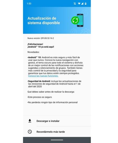 Motorola Moto G7 Actualizacion Android 10 Mexico Telcel Libre De Fabrica