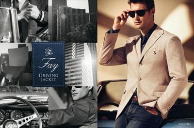 La 'Driving Jacket' de Fay, funcionalidad y elegancia en un mismo modelo