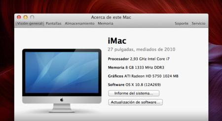 Apple ofrece un listado de los Macs que podrá actualizarse a Mountain Lion