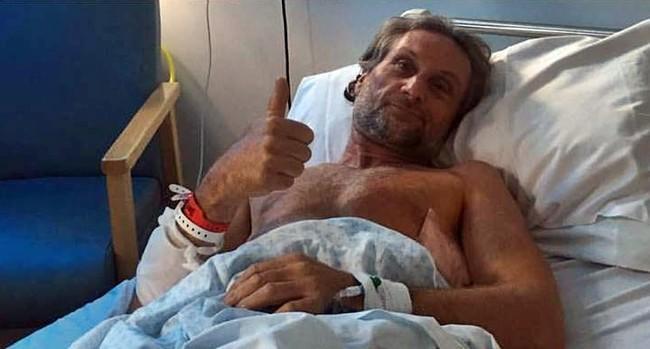 Un pulmón perforado y varias fracturas: Carl Fogarty hospitalizado tras una violenta caída