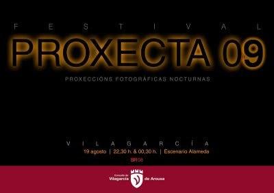 Proxecta 09, proyecciones fotográficas en Galicia