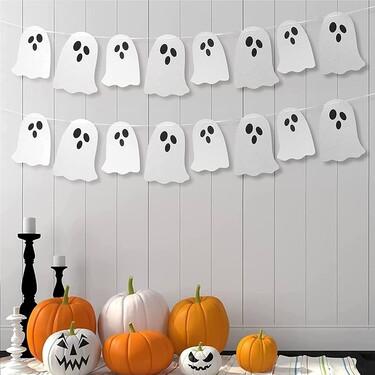 Nueve ideas decorativas de Halloween terroríficas, divertidas y, al mismo tiempo, sencillas y bonitas