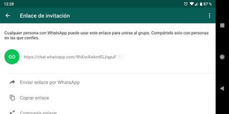 Enlace Invitación Grupo Whatsapp