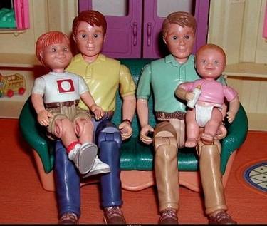 Las familias homoparentales también existen