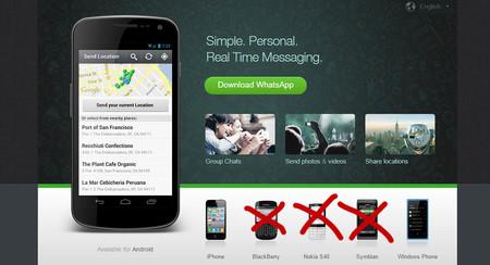 Este 30 de junio WhatsApp dejará de funcionar en teléfonos antiguos de BlackBerry y Nokia
